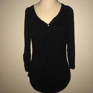 WHBM Black Long Sleeve